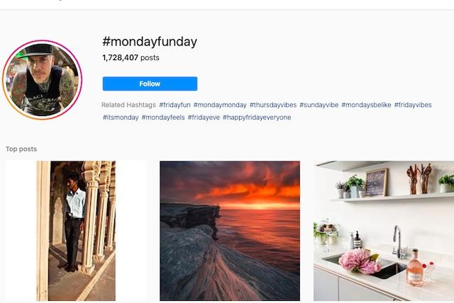 #MondayFunDay