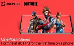 OnePlus 8 Series Now Support Fortnite at 90 FPS