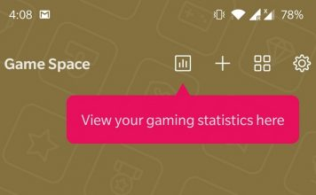 OnePlus Game Space Now on Google Play Store with Instant Games and Game Statistics