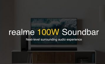 Realme 100W Soundbar launching in India soon