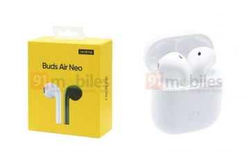 Realme Buds Air Neo leaked ahead of launch