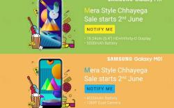 Samsung to Launch Galaxy M11 and Galaxy M01 on June 2 in India
