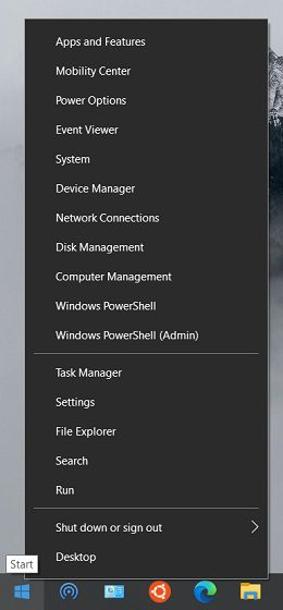 21. Access Windows Tools Quickly