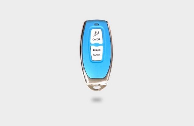 Slinger bag remote
