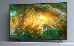 Sony Bravia X8000H TV website