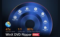 WinX DVD Ripper Platinum Rip and Digitize DVDs for Free