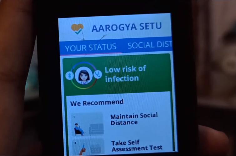 aarogya setu jiophone launched