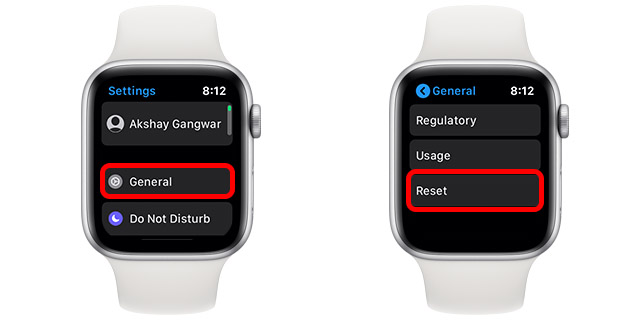 apple watch issue fixes 12