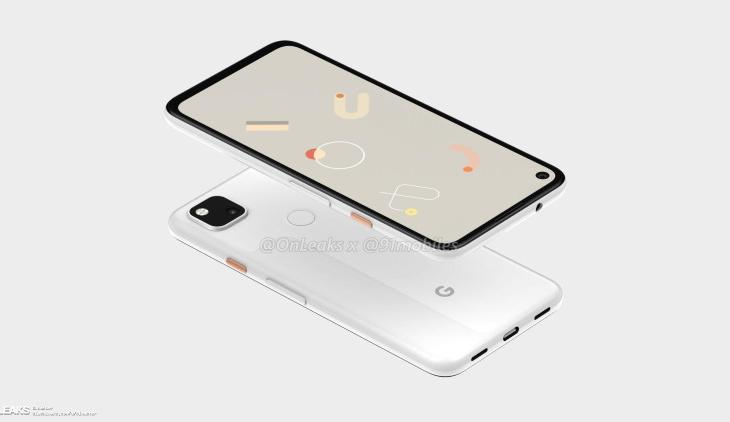 pixel 4a design and display