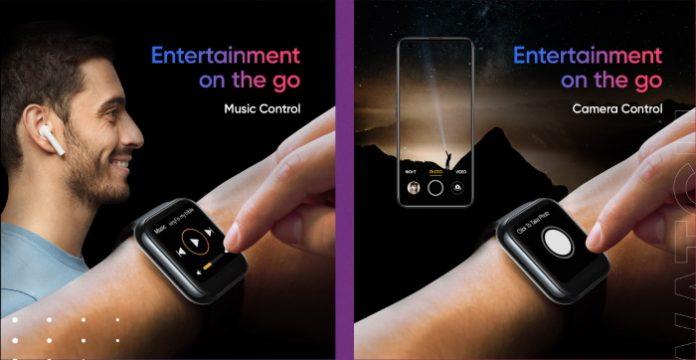 مواصفات ساعة Realme الذكية realme-watch-control