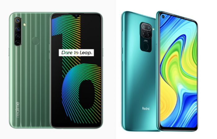 redmi note 9 vs realme narzo 10
