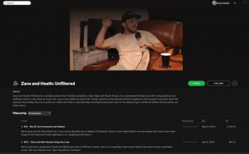 spotify video podcasts