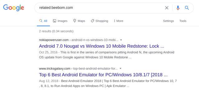 Find Similar Websites