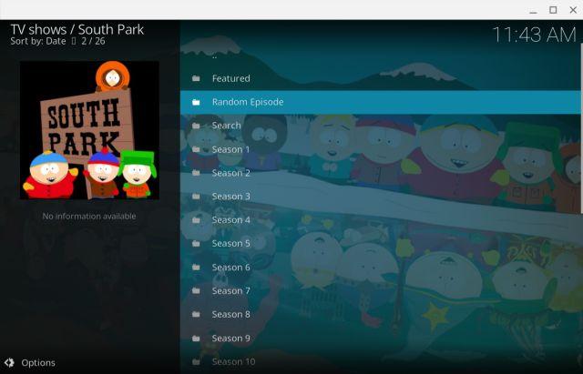 11. South Park