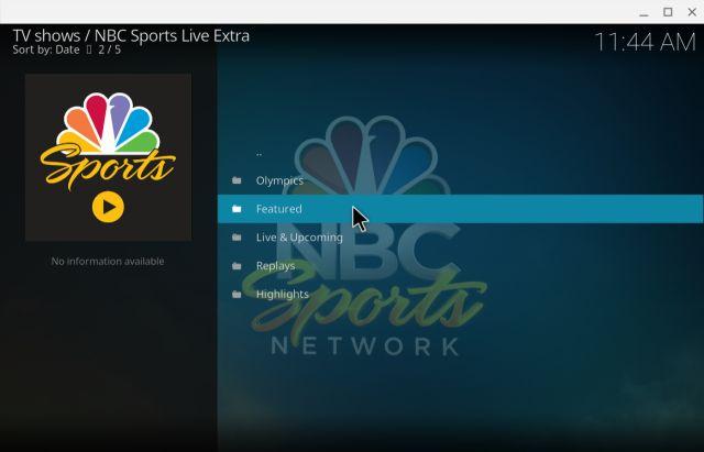 10. NBC Sports Live Extra