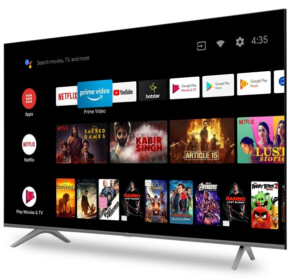 Vu Ultra 4K Android TV Lineup Launched in India Starting at Rs. 25,999