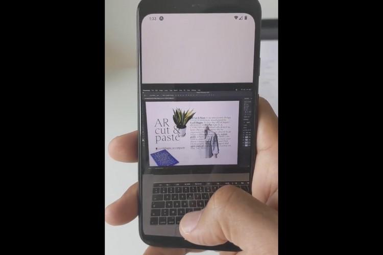 此AR应用程序可让您在文档上复制粘贴现实世界中的对象