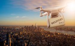 Drone delivery shutterstock website