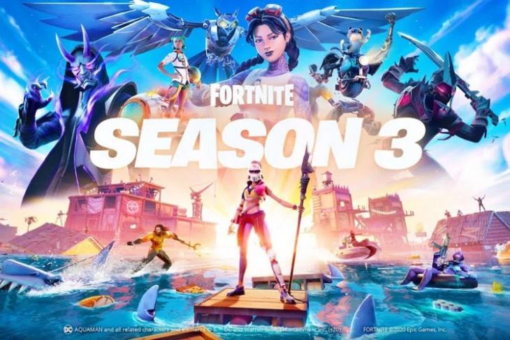 Fortnite Season 3 website