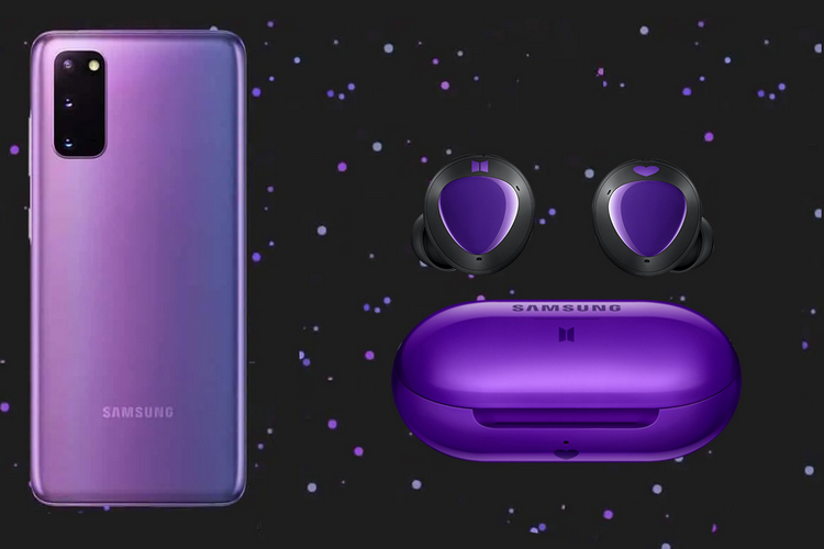 Samsung To Launch Galaxy S20 Bts Edition In Mirror Purple On July 9 Beebom