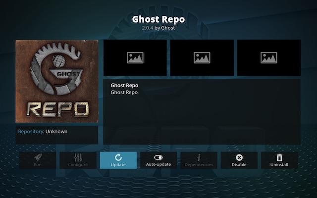 Ghost repo