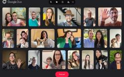 Google Duo Now Supports 32 Participants for Group Video Calls on the Web