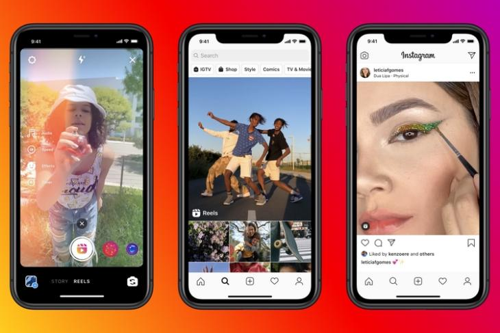 Instagram's TikTok Clone 'Reels' Gets Dedicated Section in Explore and Profile