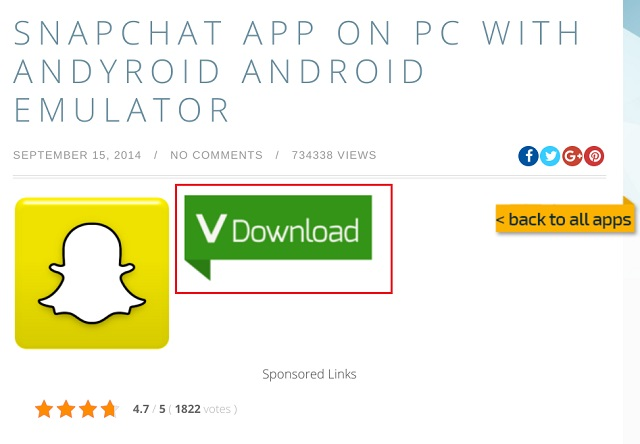Install Snapchat on PC