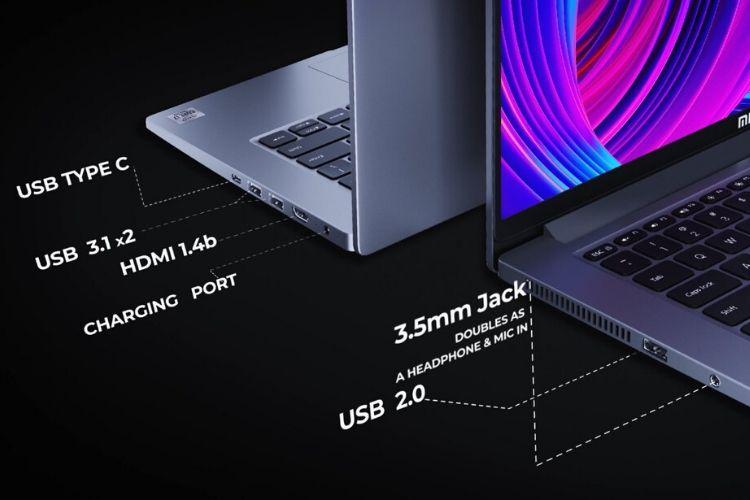 Mi Notebook 14 ports