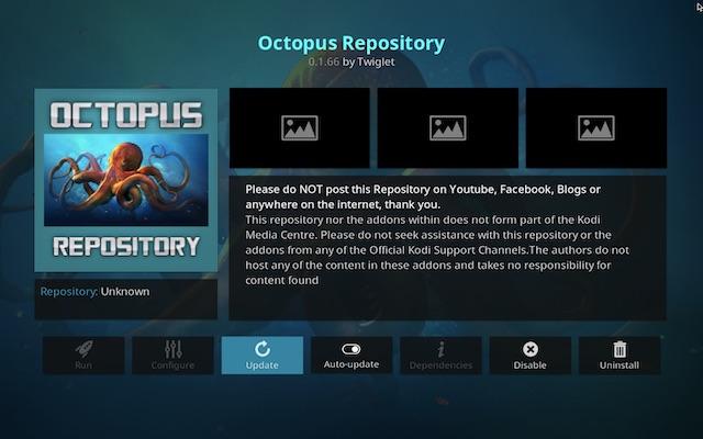 Octopus Repository