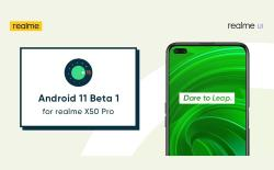 Realme X50 Pro Android 11 beta update