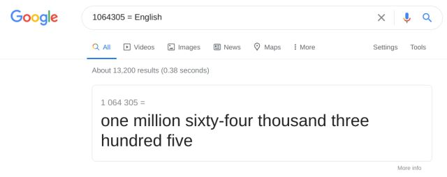 Convert Numbers to Words