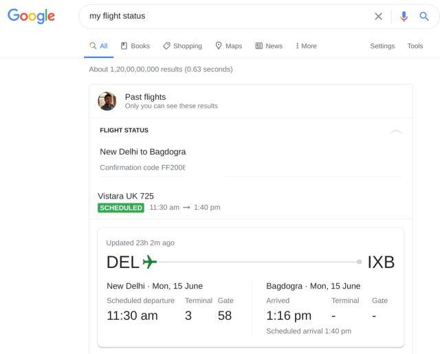 Check Flight Status