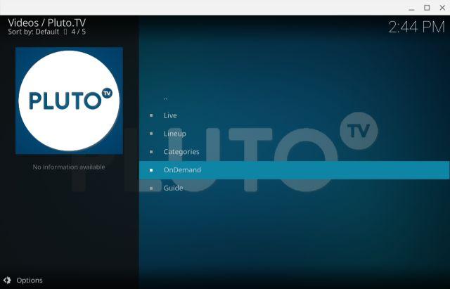 5. Pluto.TV