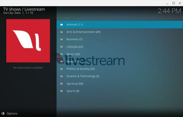 9. Livestream