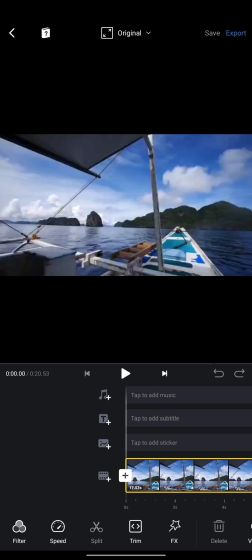1. VN Video Editor Free Video Editors For Android Without Watermark