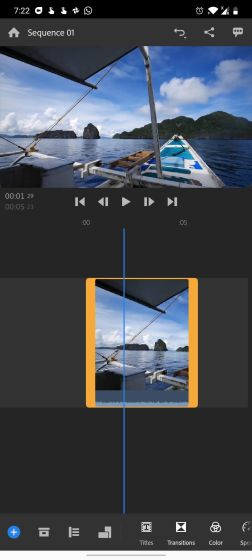 4. Adobe Premiere Rush Free Video Editors For Android Without Watermark