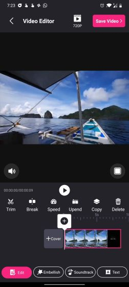 8. PixArt Video Free Video Editors For Android Without Watermark