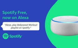 Spotify on Alexa website