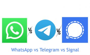 WhatsApp vs Telegram vs Signal: A Detailed Comparison