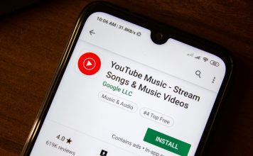 YouTube Music in Google maps feat.