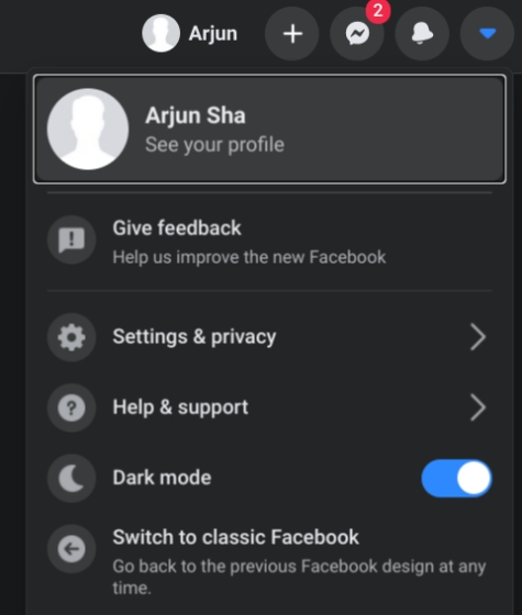 5. Enable Dark Mode