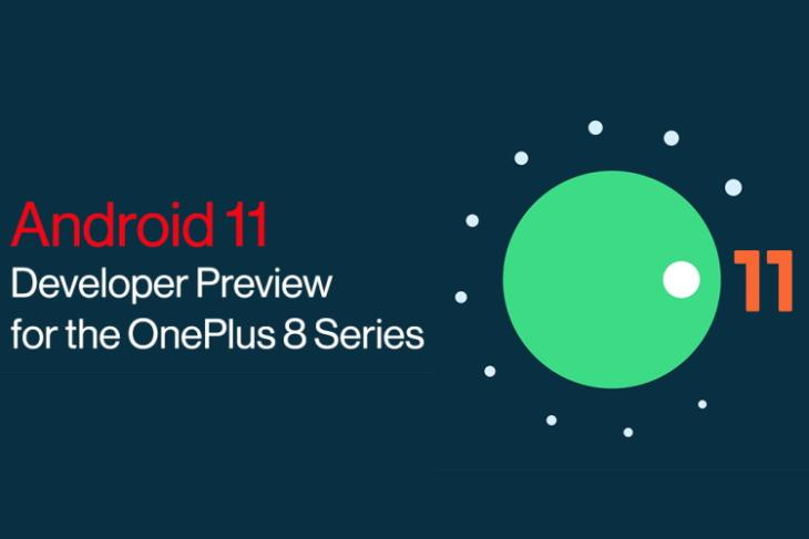 android 11 beta - oneplus 8 and oneplus 8 pro