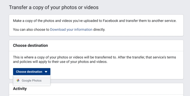 8. Transfer Photos to Google Photos