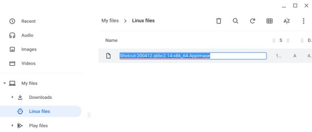 Run AppImage Programs on Chromebook