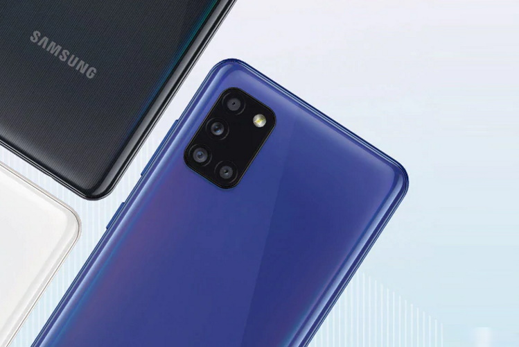 Samsung Galaxy A31 with Helio P65 SoC, 48MP Quad-Cameras Launched in India