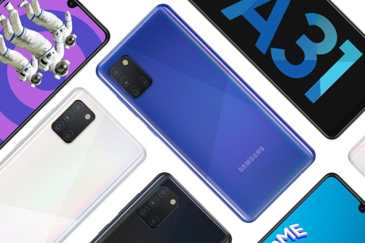 galaxy a31 launched india
