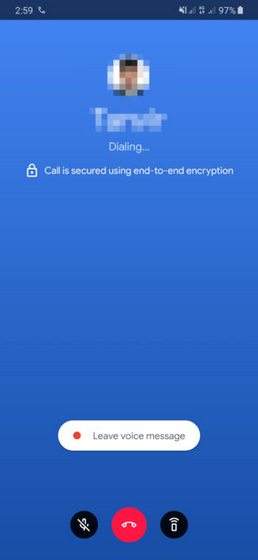 google duo end to end encryption