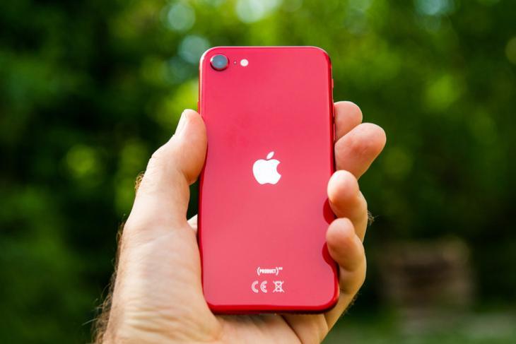 iPhone SE website