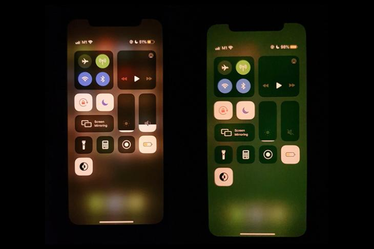 iPhone 11 Green Tint issue